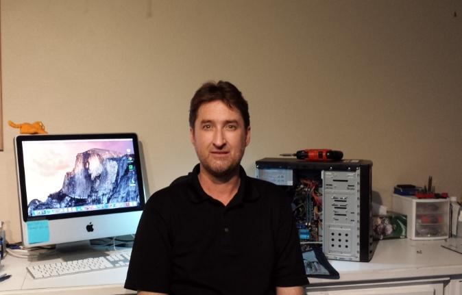 About Me: Steve Repairing Computers