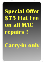 Special Offer on MAC Repairss